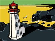 Lighthouse aerial