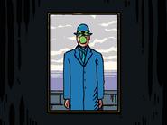 Blue Guy Portrait Full