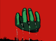 Big ghost hand