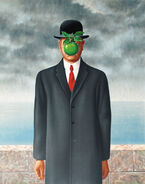 René Magritte The Son of Man