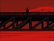 Henryk on bridge