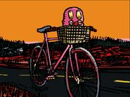 Mischief as bike