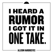 Allison Hargreeves Quote