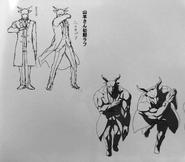Goat alchemist sketch