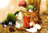 Higurashi.Onisarashi manga artwork 1