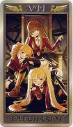 Umineko Anime Tarrot Card VII