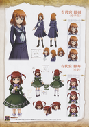 Umineko Pachinko slot artbook pg 104