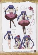 Umineko Pachinko slot artbook pg 85