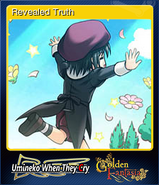 Revealed Truth OMK Steam Trading Card