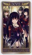 Umineko Anime Tarrot Card XVI