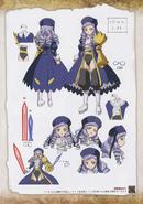 Umineko Pachinko slot artbook pg 89