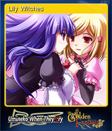 Lily witches OMK Steam Trading Card
