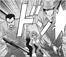 Akasaka and co attack the clinic manga.png