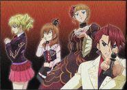Umineko anime promotional art 2