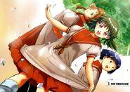 Higurashi.Onisarashi manga artwork 2