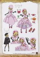 Umineko Pachinko slot artbook pg 63