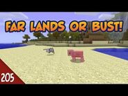 Minecraft Far Lands or Bust - -205 - Desert Pig Song