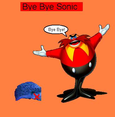 Bye Bye Sonic