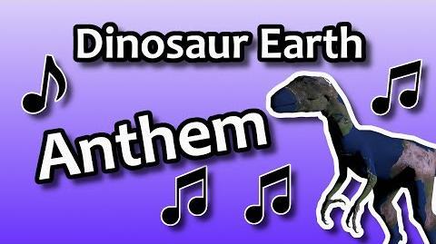 Dinosaur Earth Anthem (Lyric video)