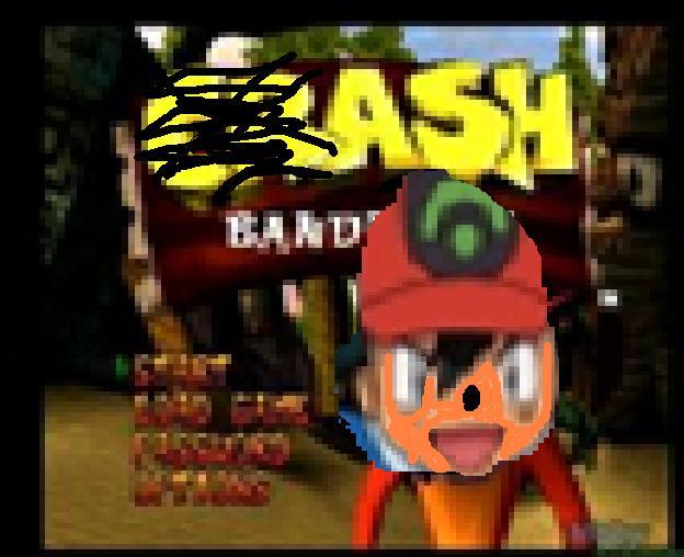 Ash Bandicoot: The Shame