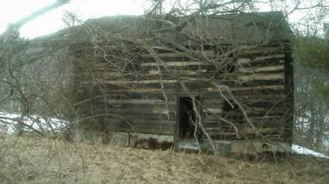 Creepy Log Cabin