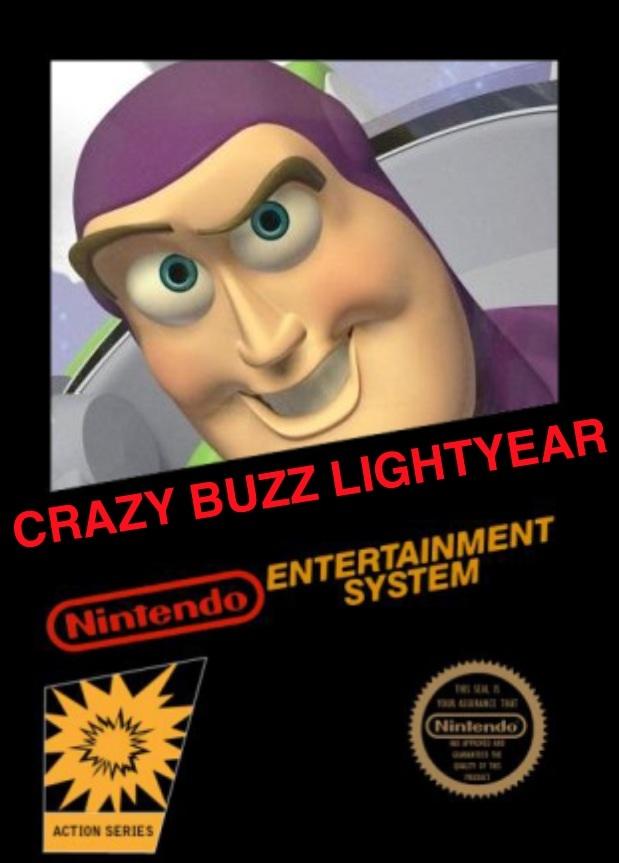 Crazy Buzz Lightyear