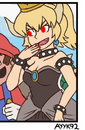 Eviler bowsette