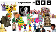 Employees of the BBC