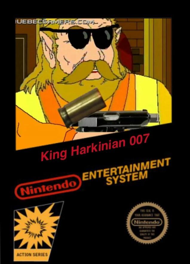 King Harkinian 007