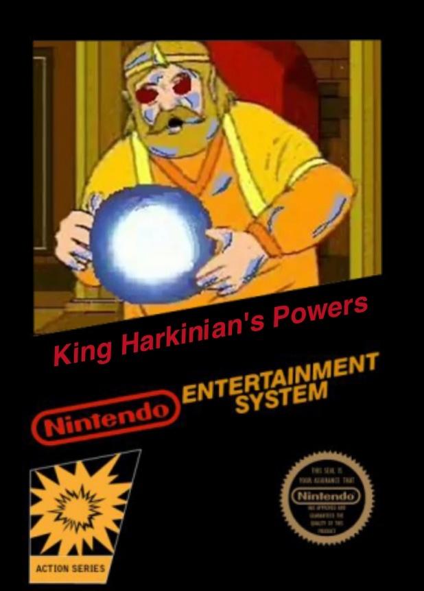 King Harkinian's Powers