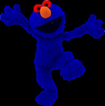 Blue Elmo