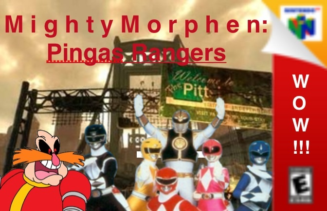 Mighty Morphen:Pingas Rangers.The Game