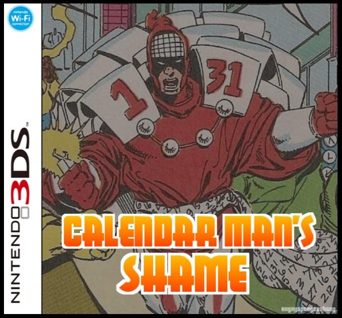Calendar Man's Shame