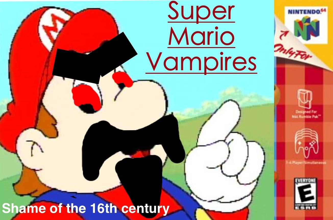 Super Mario Vampires