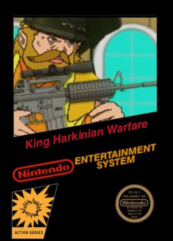 King Harkinian Warfare
