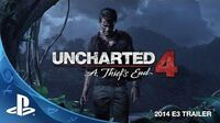 Uncharted 4 A Thief's End E3 2014 Trailer (PS4)