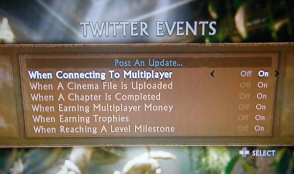 Among Thieves Twitter events
