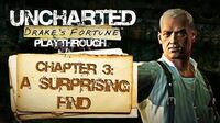 Uncharted Drake's Fortune (PS3) - Chapter 3 A Surprising Find - Playthrough Gameplay