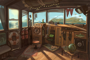 Sully's yacht concept art