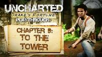 Uncharted Drake's Fortune (PS3) - Chapter 9 To the Tower - Playthrough Gameplay