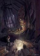Amazon temple concept art 2