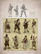 Eddy Raja's pirates concept art