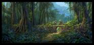 Hidden island concept art 2