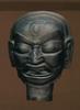 Clay Deity Head