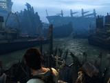 Ship graveyard