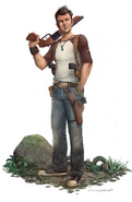 Nathan Drake from DF concept art 2