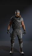 Sidekick Villain Military Hunter