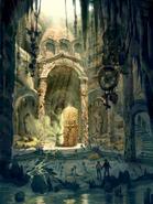 Monastery lair concept art