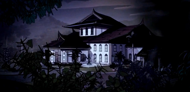 Pinkerton's mansion