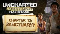 Uncharted Drake's Fortune (PS3) - Chapter 13 Sanctuary? - Playthrough Gameplay
